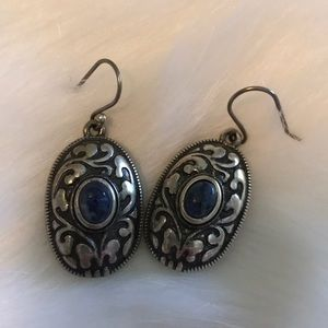 Brighton Blue and silver earrings